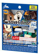 saveEditor Game Enhancer for the PS4 Vol.1 support