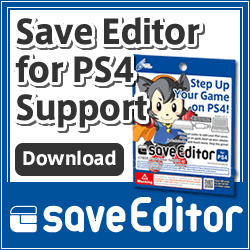 CYBER Save Editor for PS4 support