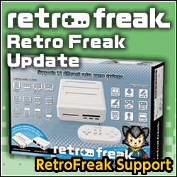 Retro Freak Support